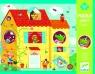 Puzzle optyczne The house (DJ07010)