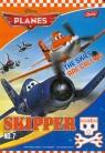 Zeszyt A5 Planes w trzy linie 16 kartek okładka laminowana Skipper