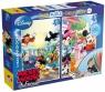 Puzzle dwustronne Myszka Miki 2 w 1 48