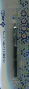 Długopis automatyczny zenith 7 blister czarny