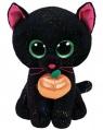 Maskotka Beanie Boos: Potion - czarny kot z dynią 15cm (36210)