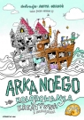 Arka Noego Kolorowanka kreatywna z naklejkami Graboś Anita, Siepsiak Jacek