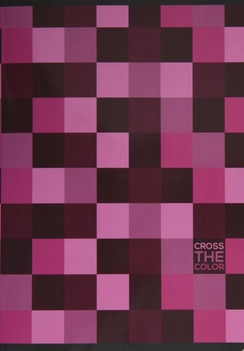 Zeszyt A5 Cross the color w kratkę 80 kartek