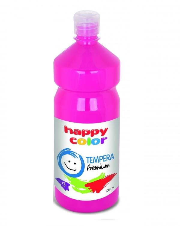 Farba Tempera Happy Color 1000 ml cyklamen nr 23 (HA 3310 1000-23)