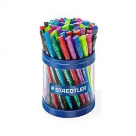 Długopis ball 423M z przyciskiem mix kolorów (S 423 35MKP50)
