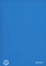 Brulion A5 Color Blocking w kratkę 96 kartek niebieski