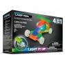 Klocki Laser Pegs 4w1 samochód świecące (MPS300B)