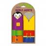 Buckle Jackets - gra edukacyjna kamizelki (RZ3001-01) Wiek: 3+