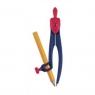 Cyrkiel Essential Plastikowy + ołówek MAPED