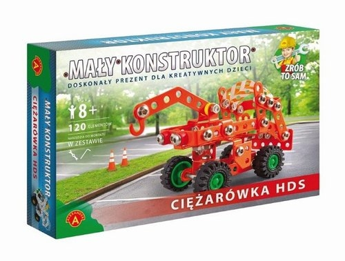 Mały konstruktor. Ciężarówka (1110)