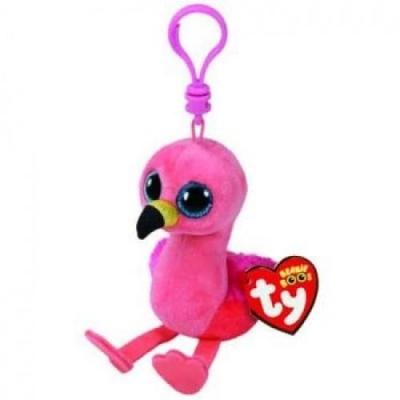 Maskotka brelok Beanie Boos Gilda - Różowy Flaming (35210)