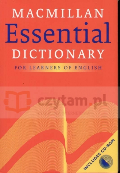 Macmillan Essential Dictionary z CD-Rom Michael Hoey
