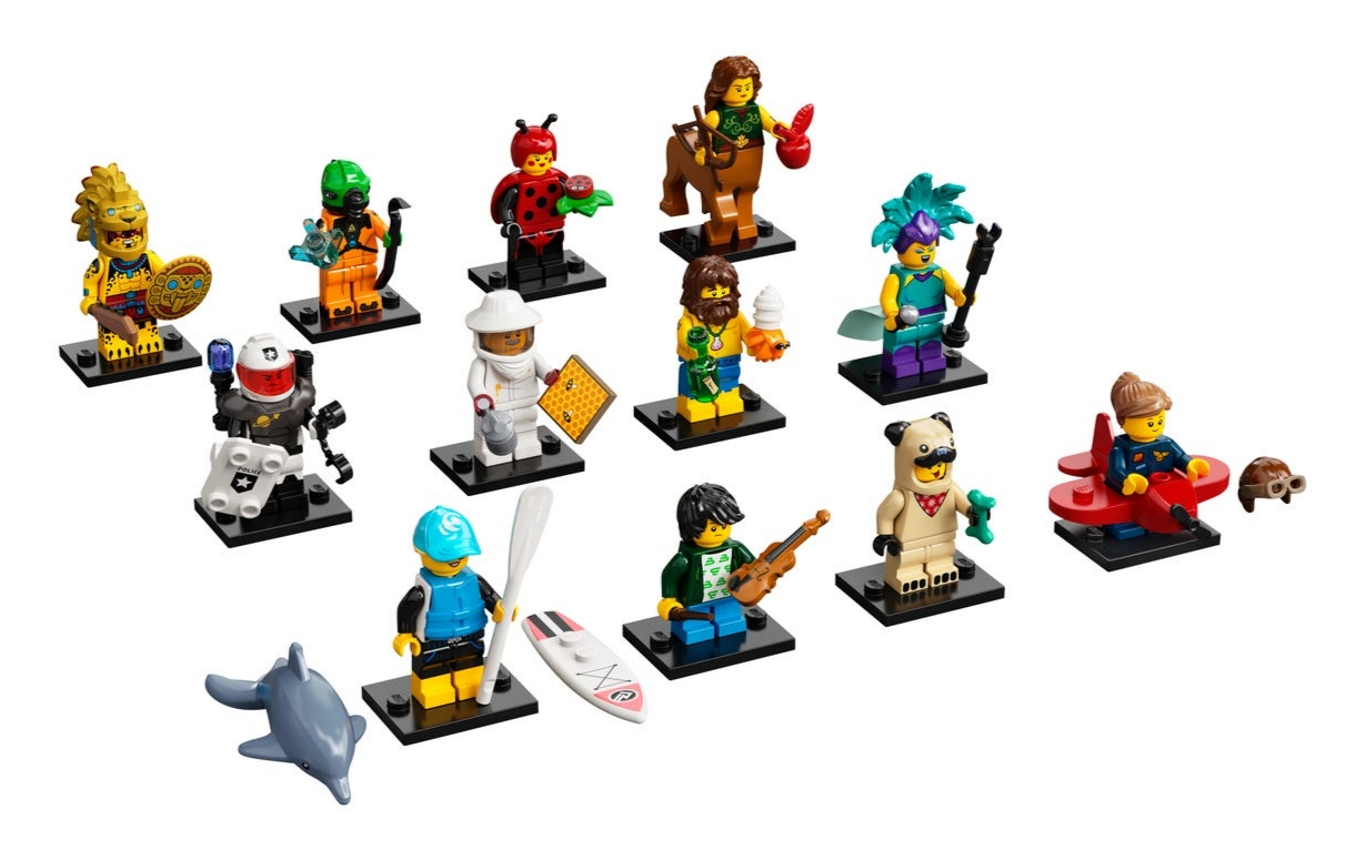 Lego Minifigures: Seria 21 MIX (71029)
