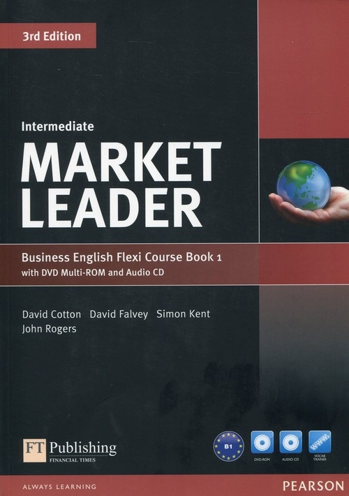 Market Leader Business English Flexi Course Book 1 with DVD + CD Intermediate Dubicka Iwonna, Okeeffe Margar