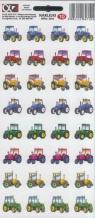 Naklejki Alfika i Zetki 10 Pojazdy rolne