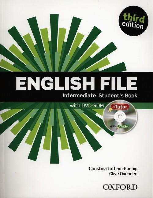 English File Intermediate Student's Book + DVD Latham-Koenig Christina, Oxenden Clive