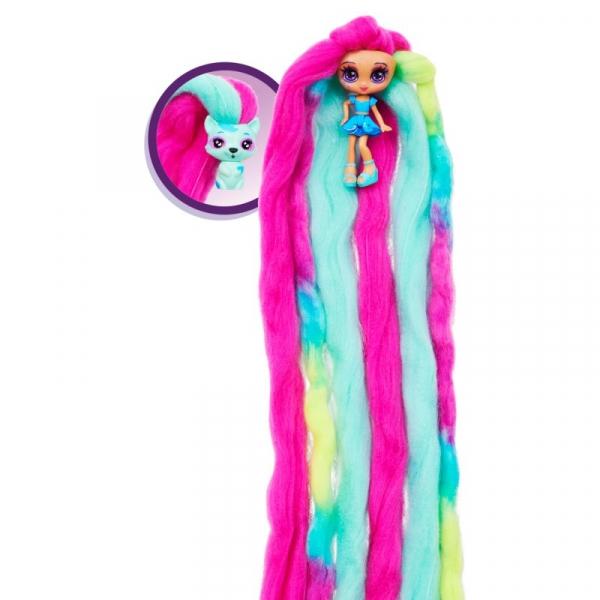 CandyLocks: Zestaw - Laleczka Ocean Spray i zwierzaczek Rickcoon (6056250/20123507)