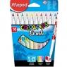 Flamastry Colorpeps Brush 10 kolorów