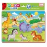 Puzzle piankowe A4. Funny pictures Zoo. 24 elementy(RK1201-06)