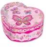 Pecoware Pozytywka w kształcie serca Motylki (170130FB) od 6 lat