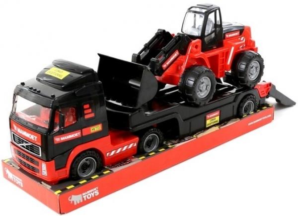 MAMMOET samochód-holownik + traktor-ładowarka (podium) (57105)