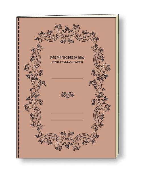 Notatnik ozdobny A5 64 kartki (NB S17A)