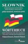 Słownik terminologii handlowej podatkowej i księgowej polsko-niemiecki niemiecko-polski