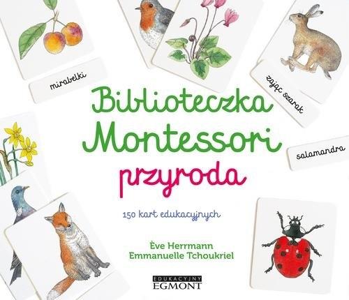 Biblioteczka Montessori Przyroda Herrmann Eve