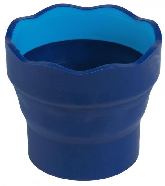 Pojemnik na wodę Clic&Go Faber-Castell niebieski
