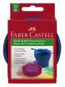 Pojemnik na wodę Click&Go niebieski Faber-Castell (181510 FC)