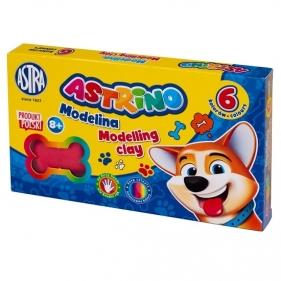 Modelina Astrino, 6 kolorów (454500)