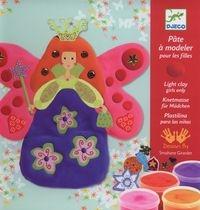 Zestaw artystyczny z plasteliną dla dziewczynek