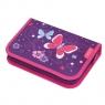 Piórnik z wyposażeniem 31 elementów Purple Butterfly (50014293)