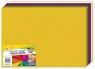 Bibuła gładka GIMBOO w składkach 24 arkusze mix kolorów