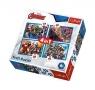 Puzzle 4w1 Nieustraszeni Avengersi (34310)