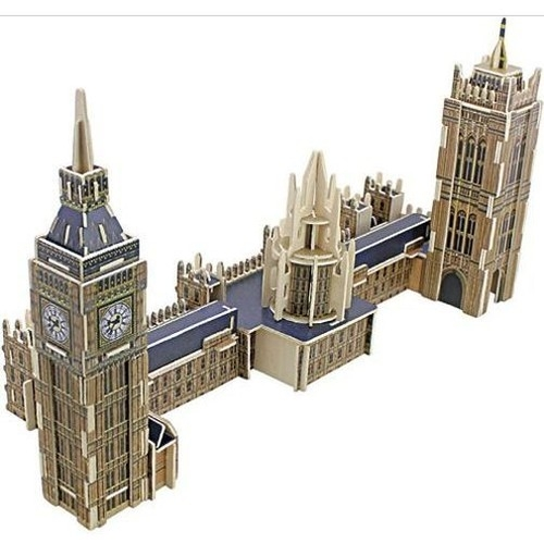 Puzzle Drewniany Big Ben