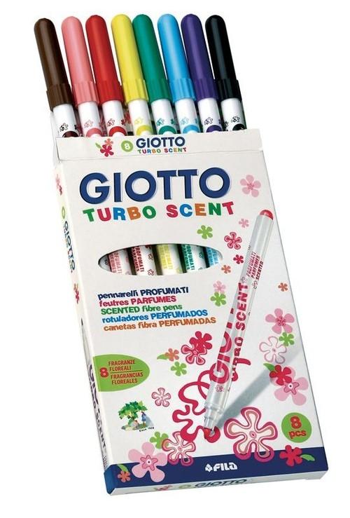 Giotto Flamastry Turbo Scent 8 sztuk