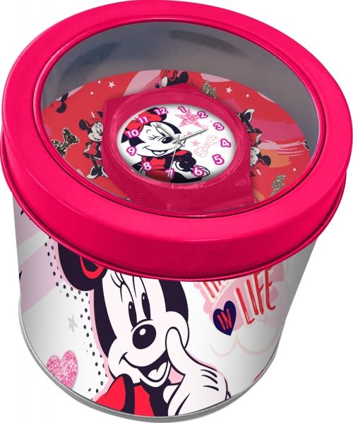 Zegarek analogowy w metalowym opakowaniu - Myszka Miki (WD21200)