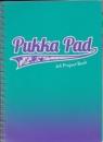 Kołozeszyt Pukka Pad Project Book Fusion a4 200k kratka morski
