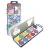 Farby akwarelowe szkolne 12 kolorów