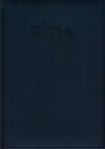 Kalendarz 2014 B5 51T Niebieski menadżerski tygodniowy