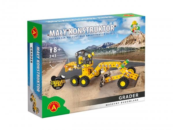 Mały Konstruktor: Maszyny budowlane - Grader