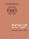 Katalog druków XVI wieku w zbiorach Biblioteki Uniwersyteckiej w Warszawie, Tom 7 Sla-Ż
