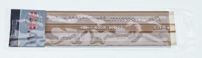 Szablon Koh-I-Noor cyfrowo-literowy 2,5 mm (748002) .