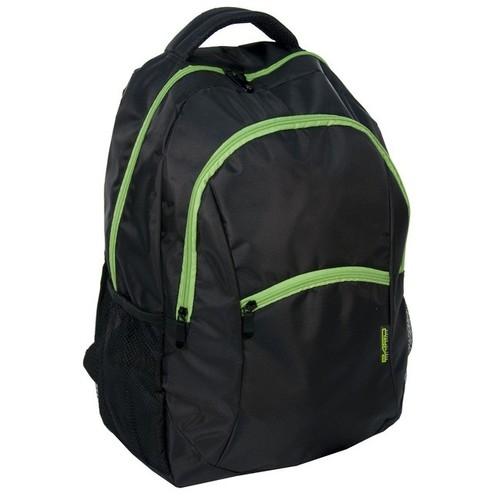 Plecak młodzieżowy czarno-zielony
