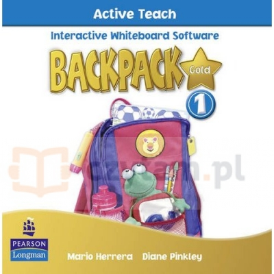 Backpack Gold 1 Active Teach Diane Pinkley, Mario Herrera