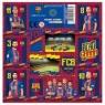 Nalepki FC Barcelona 12 sztuk