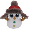 Maskotka Beanie Boos Buttons - bałwan 24 cm (36410)