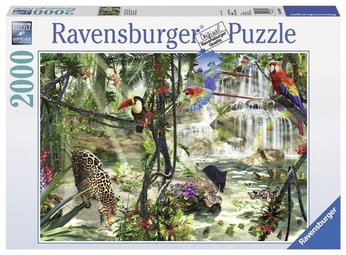 Puzzle Świat dżungli 2000 (166107)