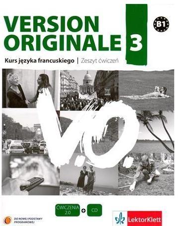 Version Originale 3 Ćwiczenia + CD Pancrazi Laetitia, Templier Stephanie